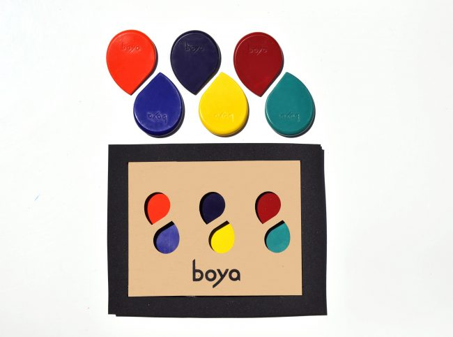 Boya Six Set Rainbow