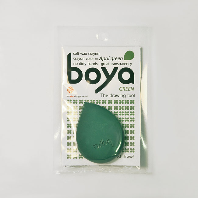 April Green Boya Crayon