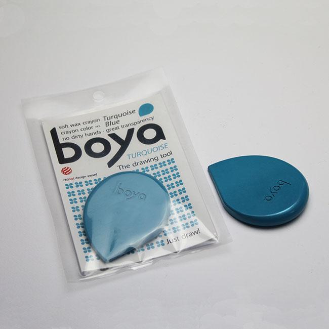 Turquoise Blue Boya Crayon