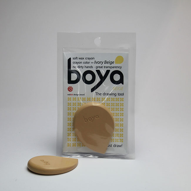 Ivory Beige Boya Crayon