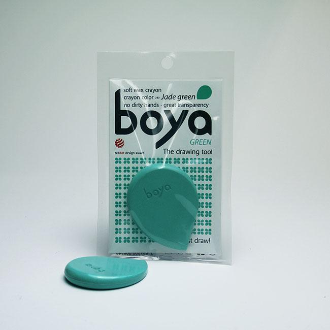 Jade Green Boya Crayon
