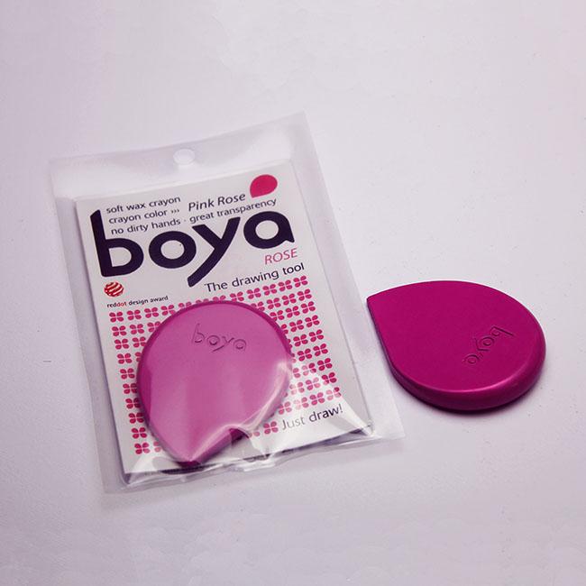 Pink Rose Boya Crayon