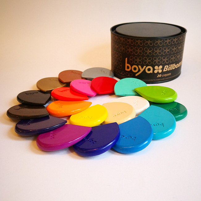 Boya Billboard – set of 20 Boya crayons