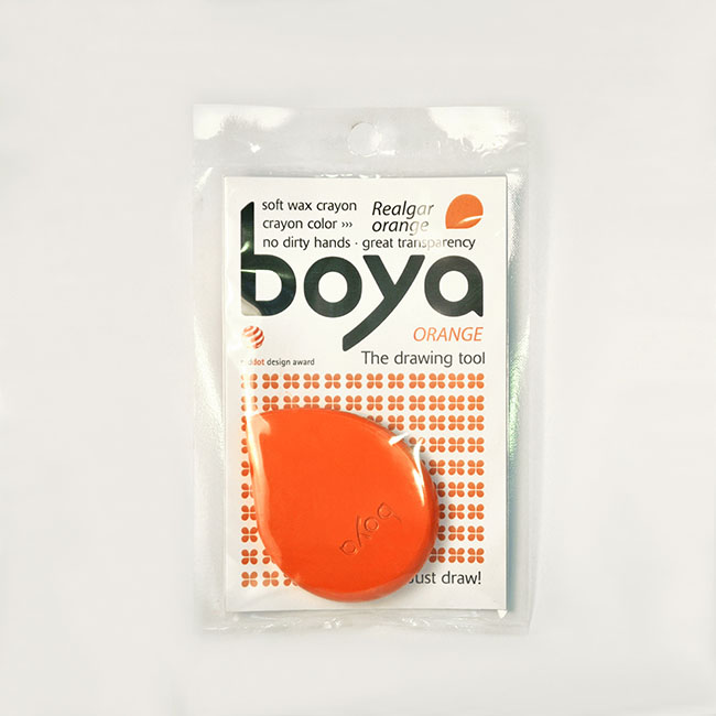 Realgar Orange Boya Crayon Boya Just Draw
